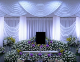 式場装飾幕のイメージ画像