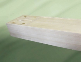 お棺(桐張り6尺)のイメージ画像