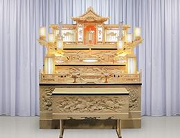 祭壇(白木)のイメージ画像