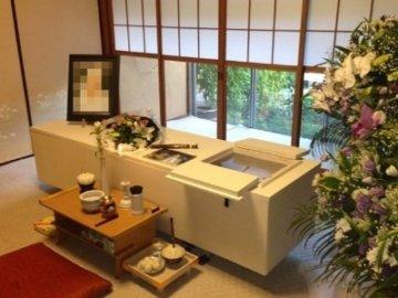 自宅葬の葬儀事例の画像